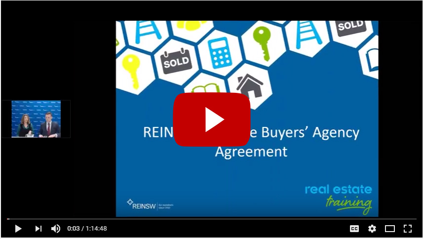 Completing The Exclusive Buyers Agent Agency Agreement