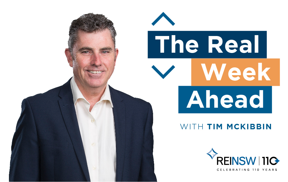 REINSW: The Real Week Ahead