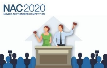 Who will be the 2020 Novice Auctioneers Competition Champion?