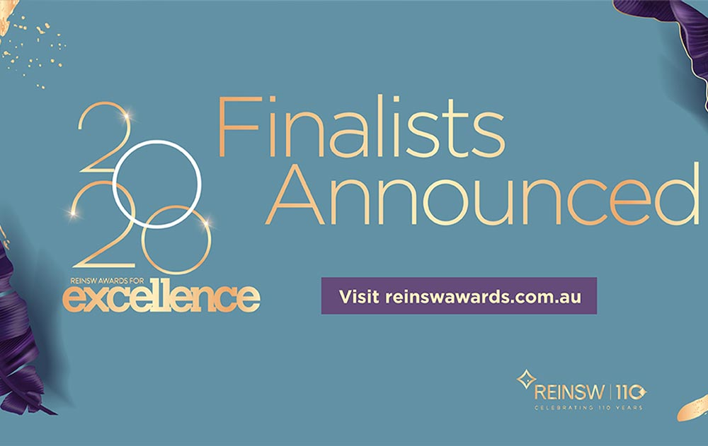 REINSW 2020 Awards for Excellence finalists announced